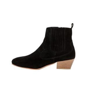 Boots western à talon Femme