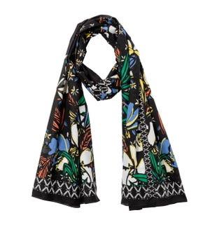 Grand foulard imprimé femme