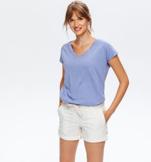 T-shirt uni femme