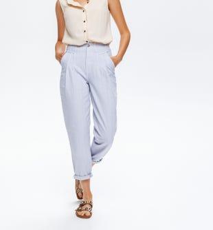 Pantalon coupe slouchy