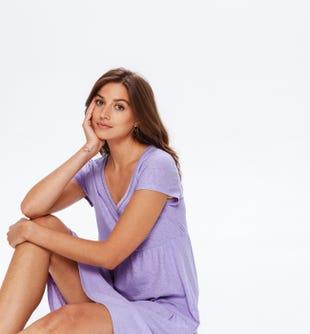 Robe en jersey femme