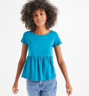 T-shirt en coton femme