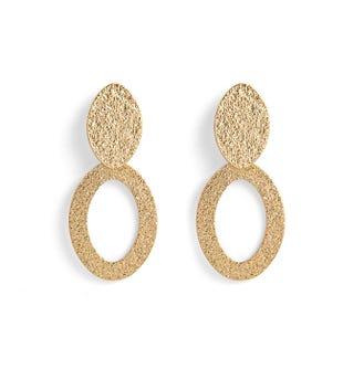 Boucles d\'oreilles dorées