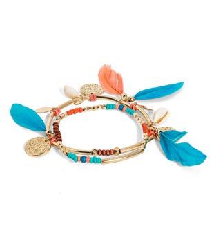 Bracelets fantaisie (lot de 2)