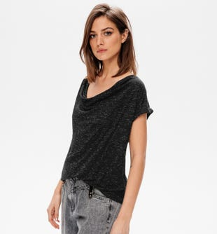 T-shirt encolure béniter femme