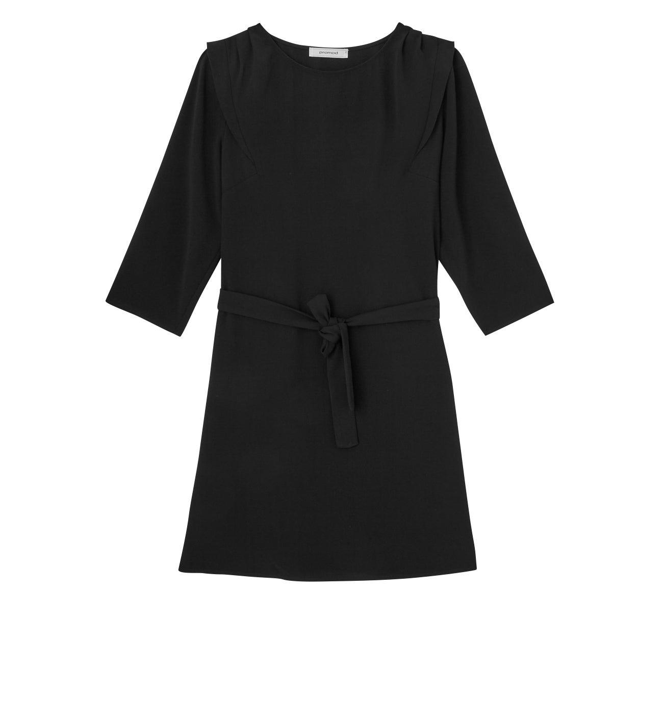 Robe courte ceinturée Femme