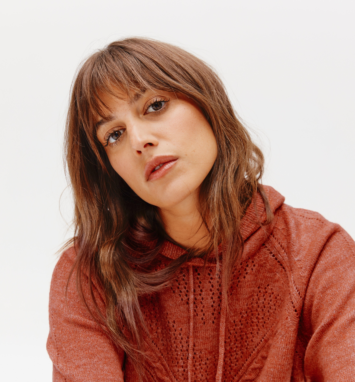 Robe-pull à capuche Femme