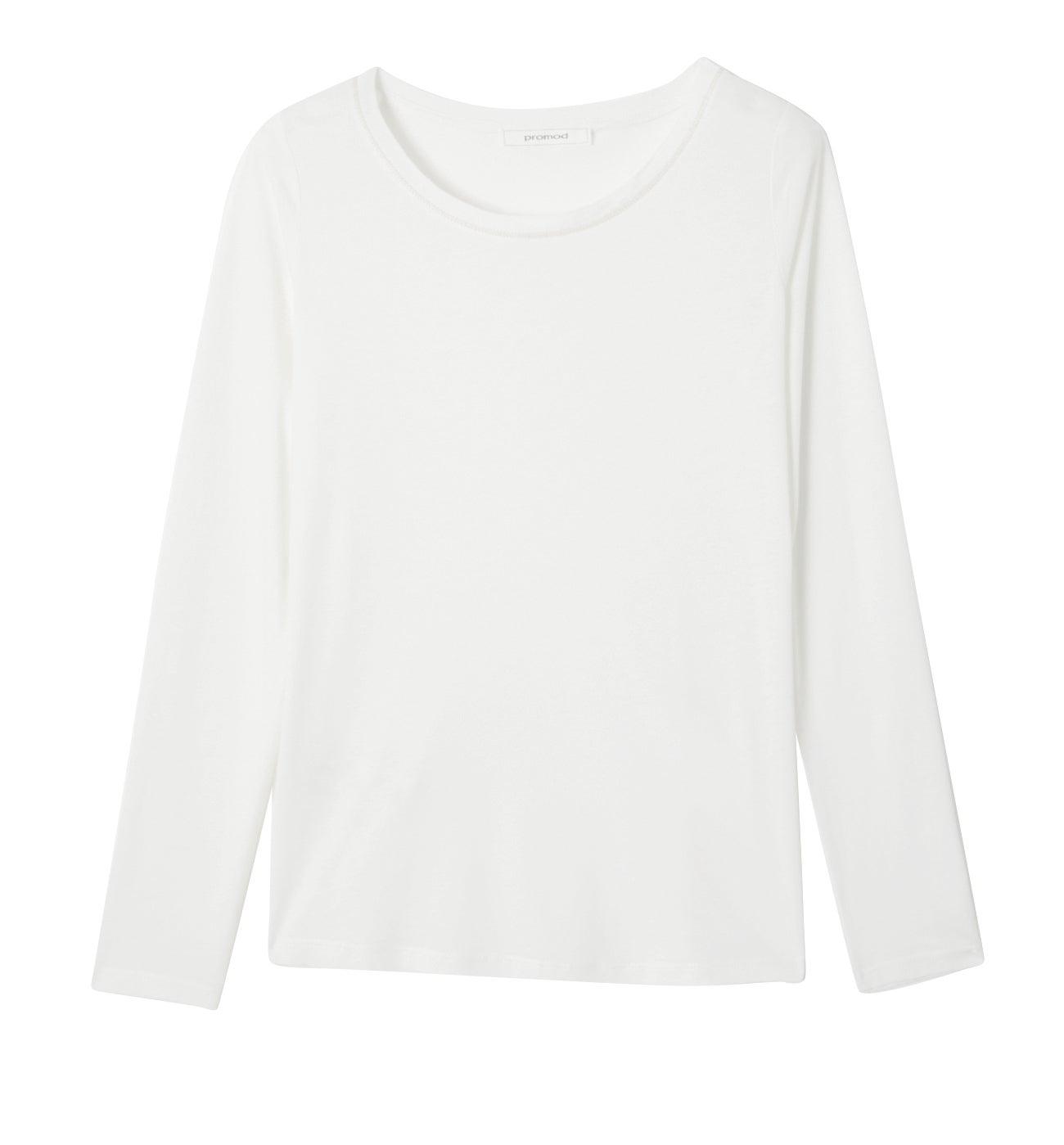 T-shirt col rond Femme
