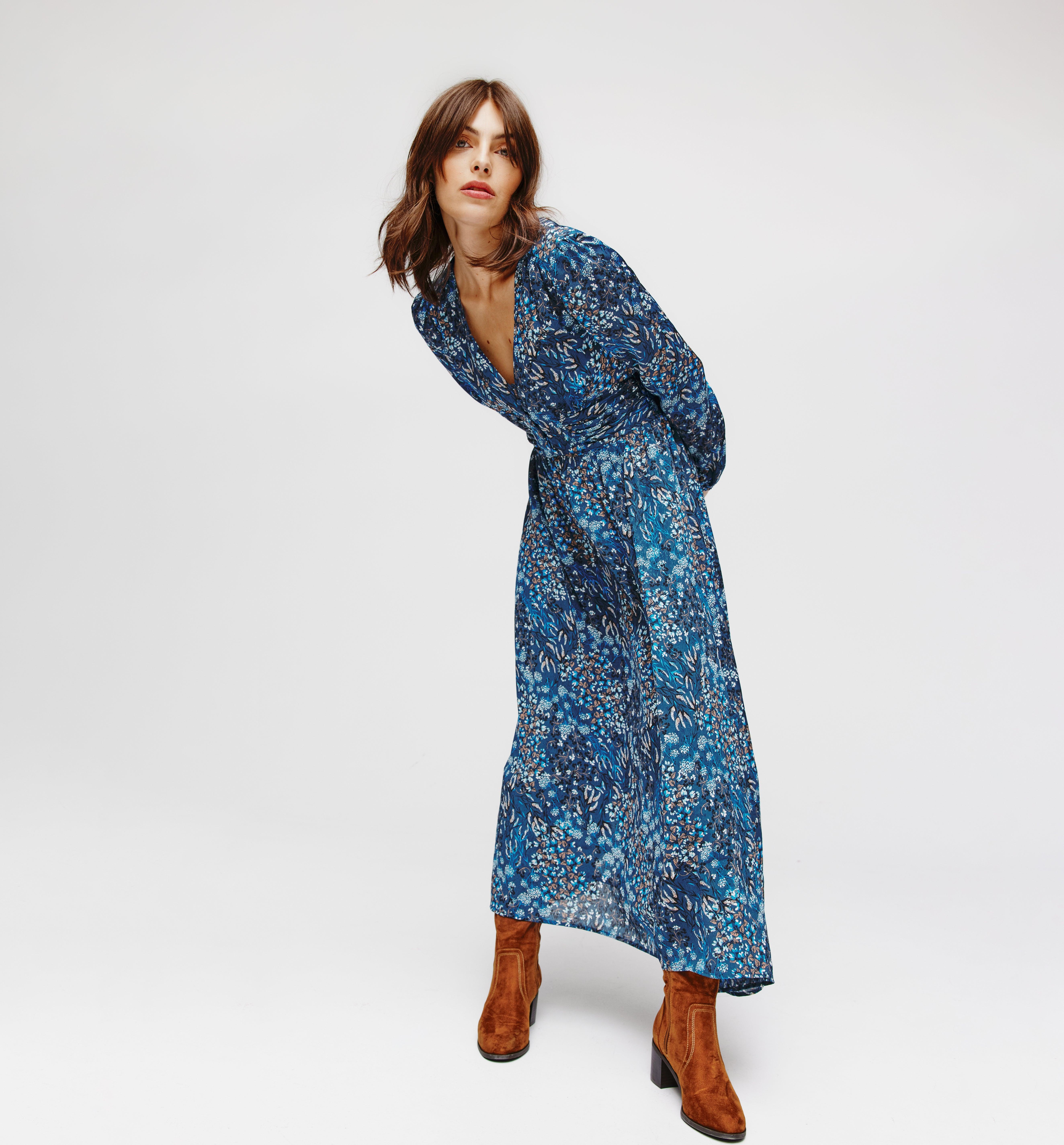Longue robe asymétrique DIMB