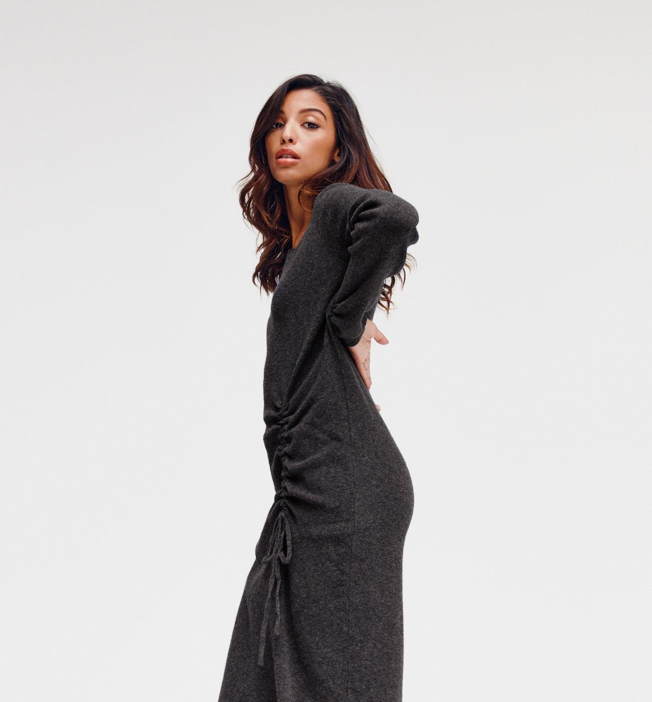 Robe en tricot Femme