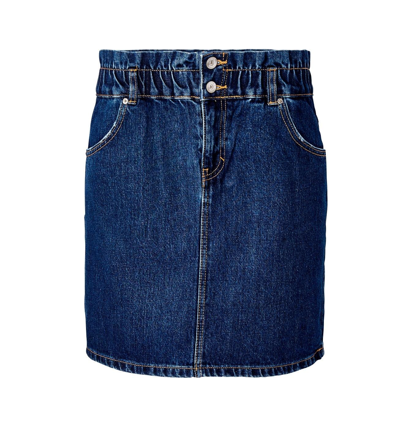 Jupe courte jean Femme