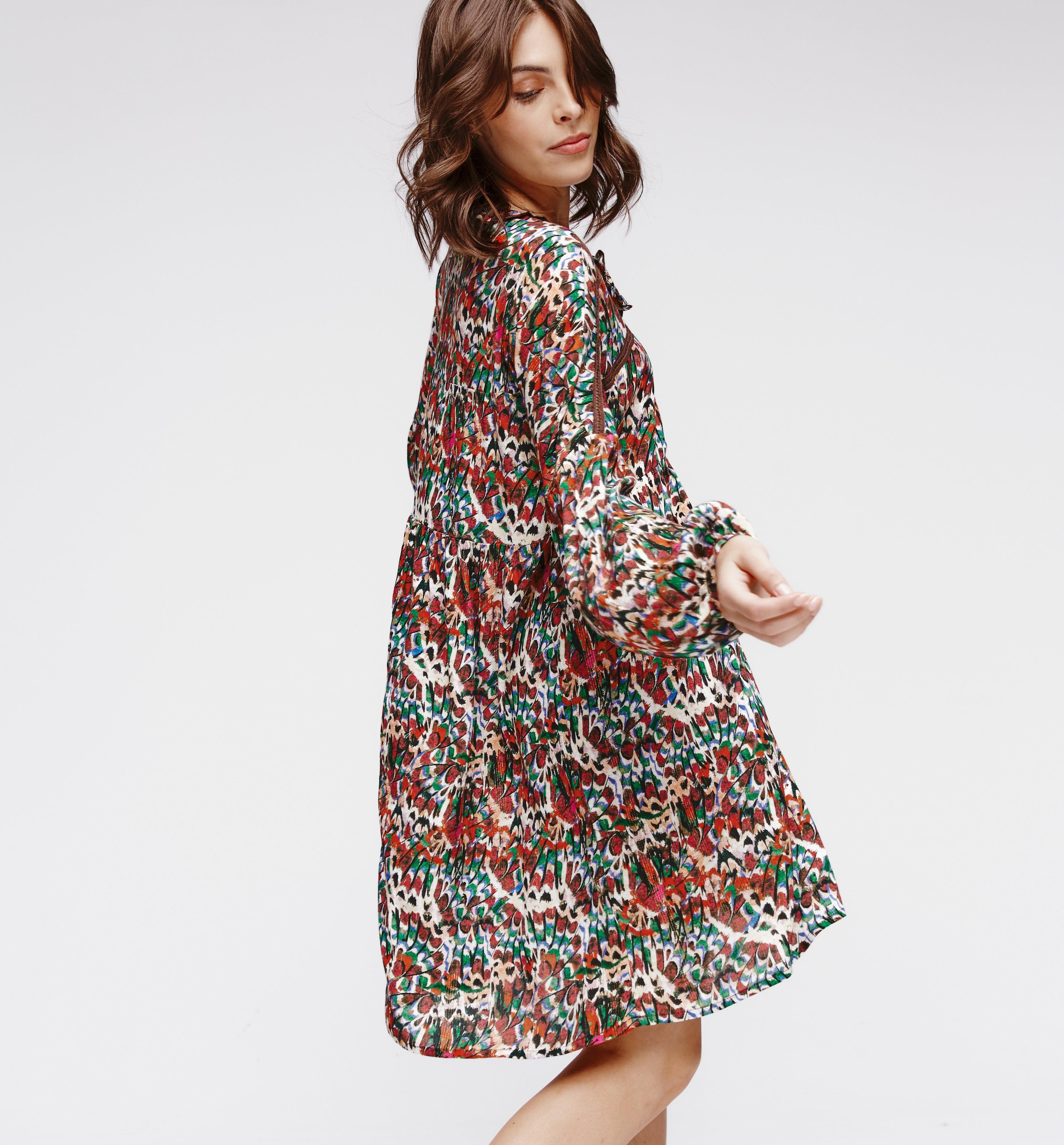 Robe imprimée Femme