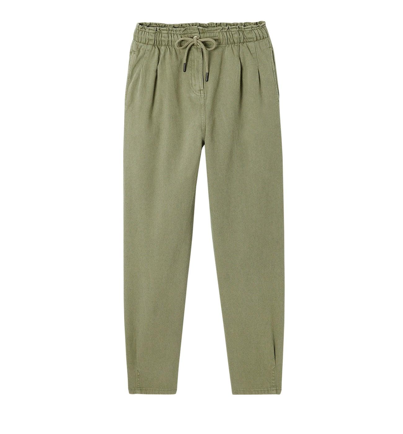 Pantalon slouchy en toile