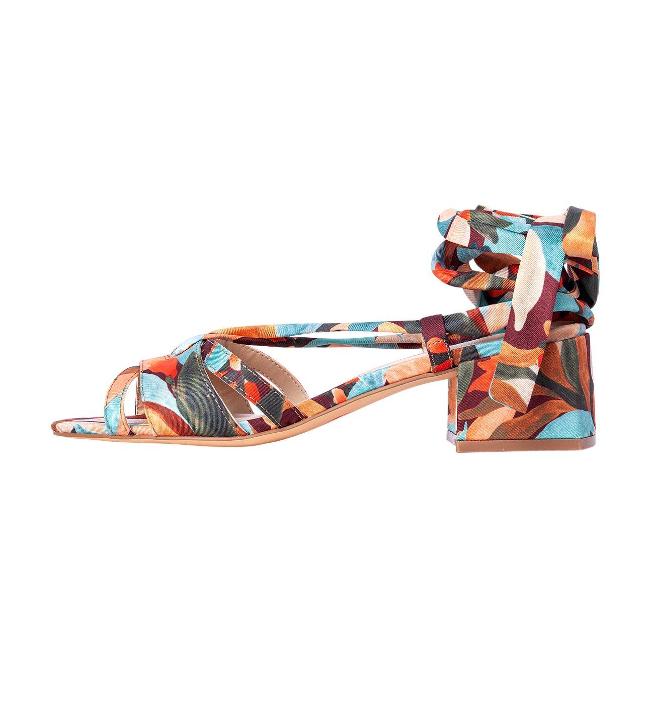 Sandales imprimées Femme