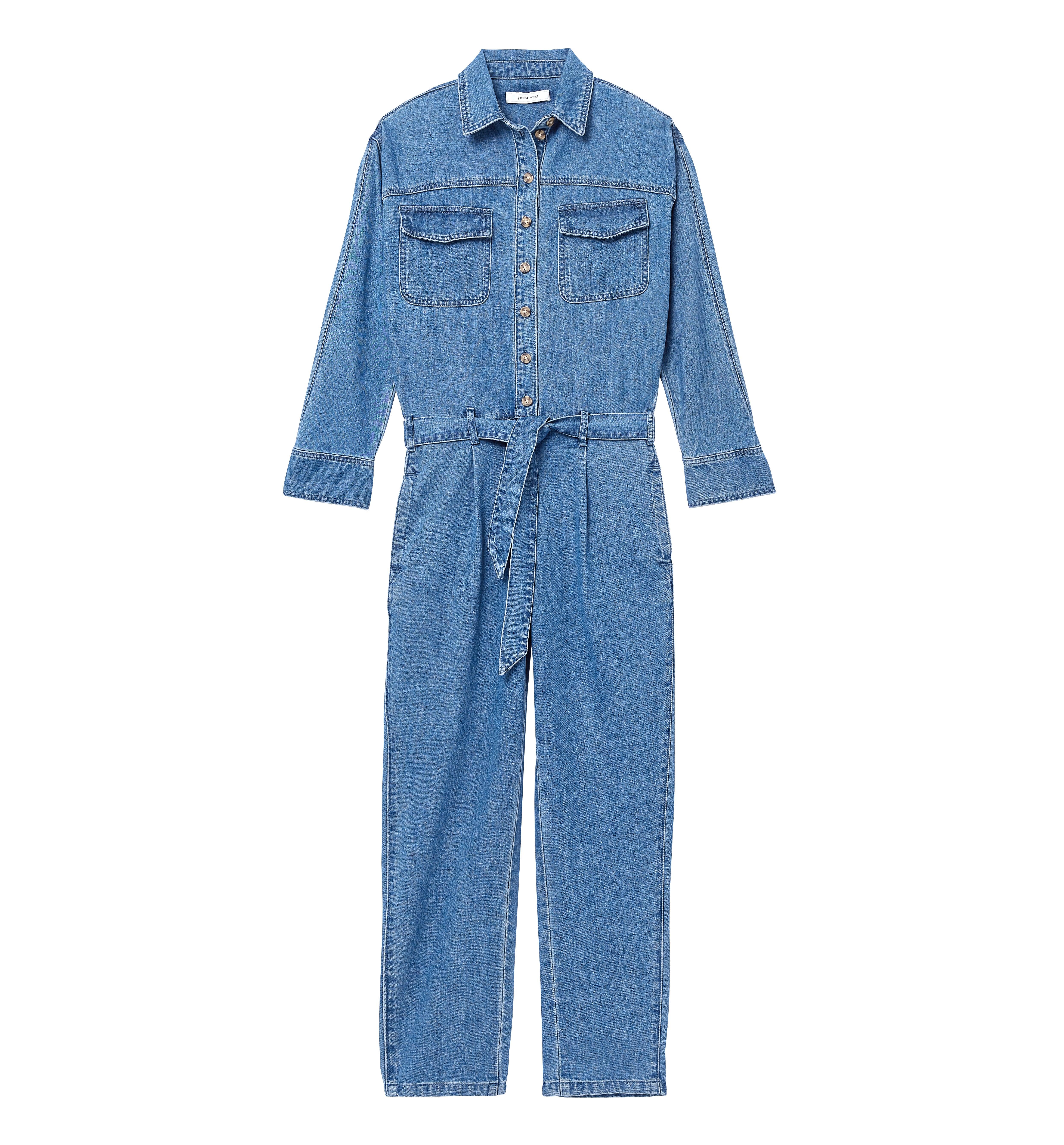 Combinaison-pantalon en jean