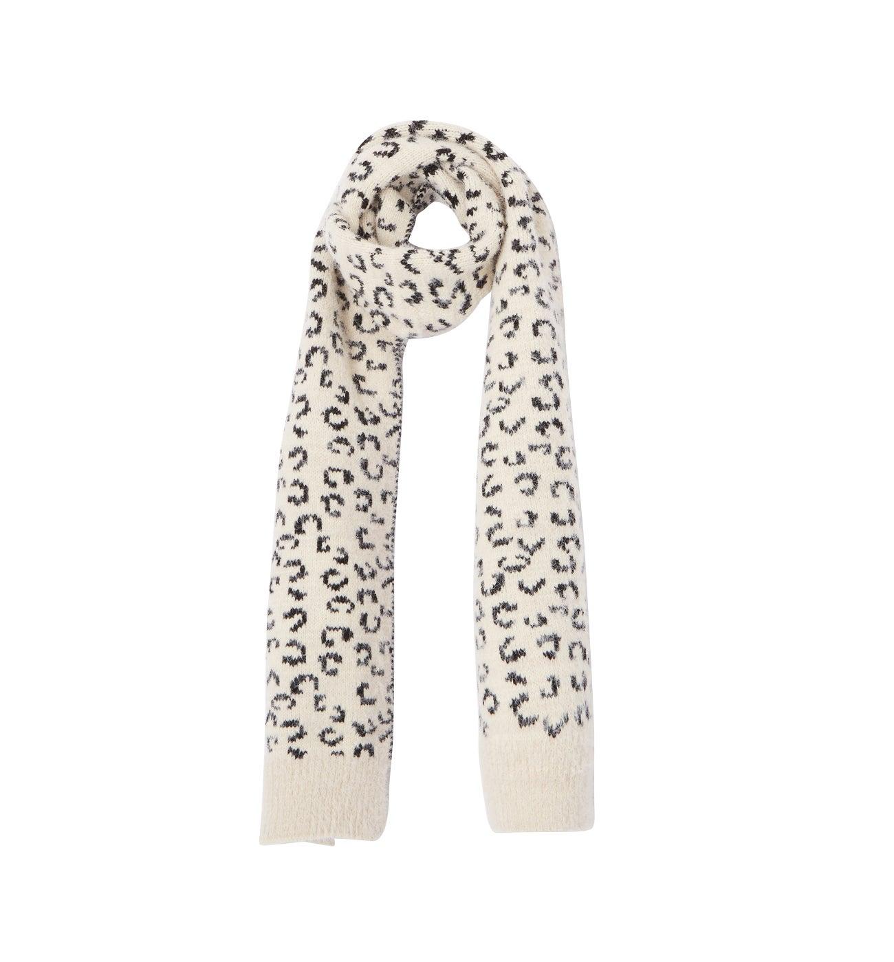 Echarpe motif léopard