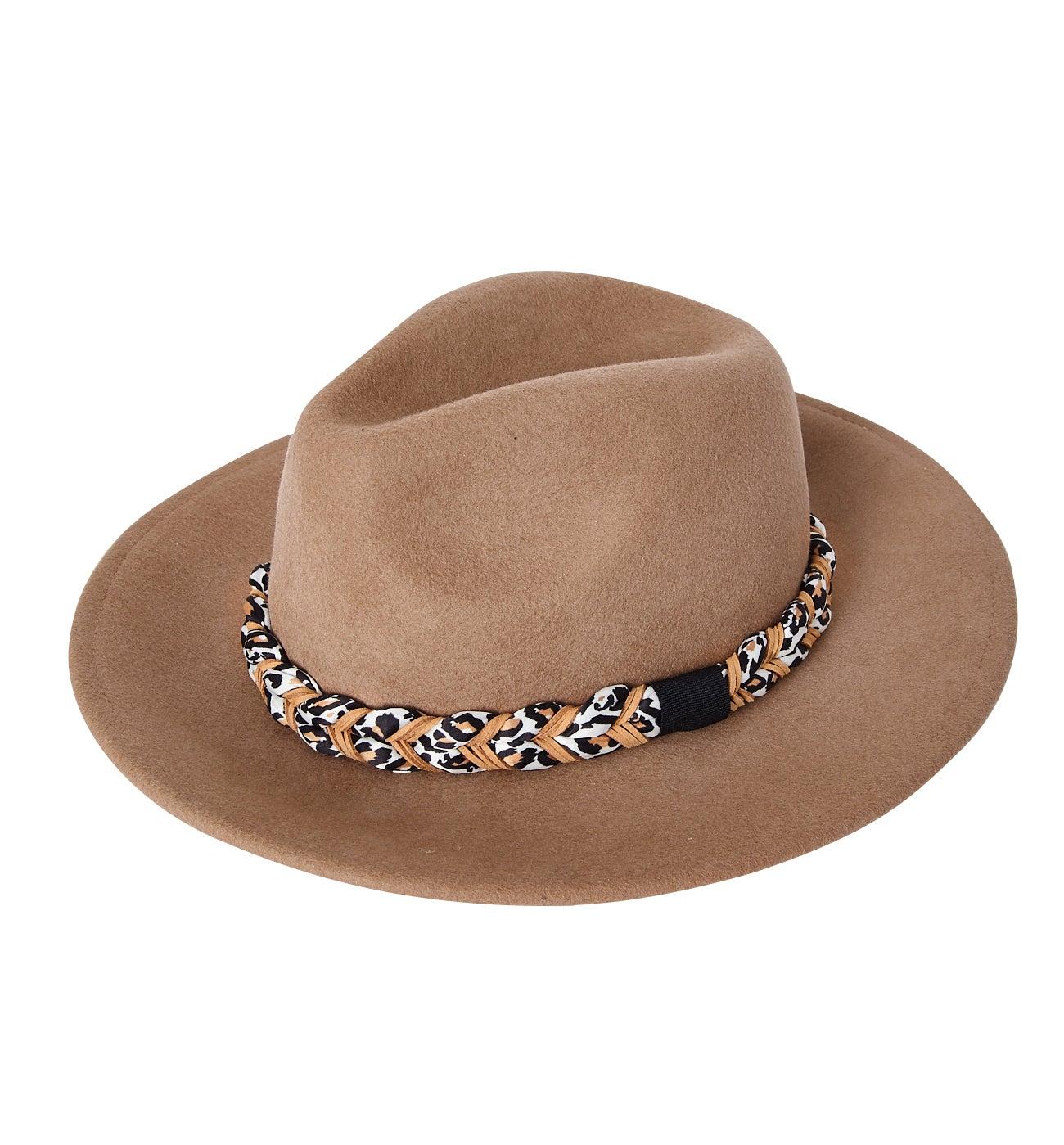 Chapeau en feutrine Femme
