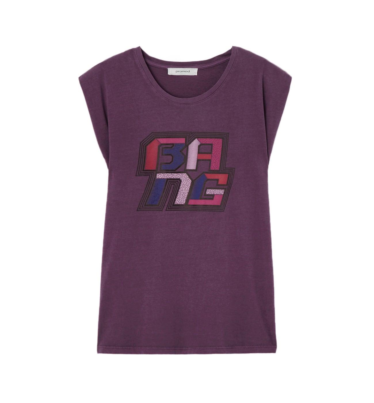 T-shirt motif graphique Femme