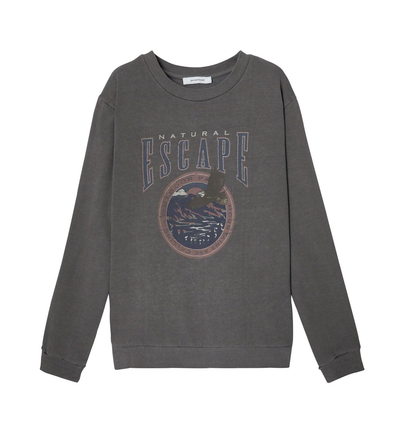 Sweat-shirt oversize Femme