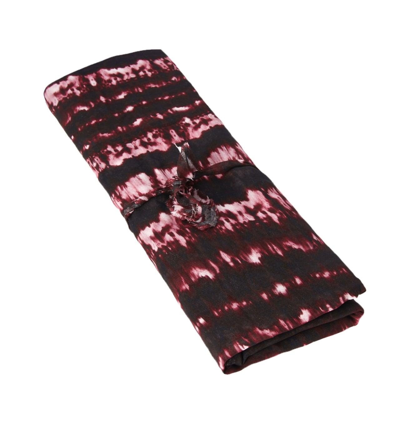 Coupon de tissu tie & dye