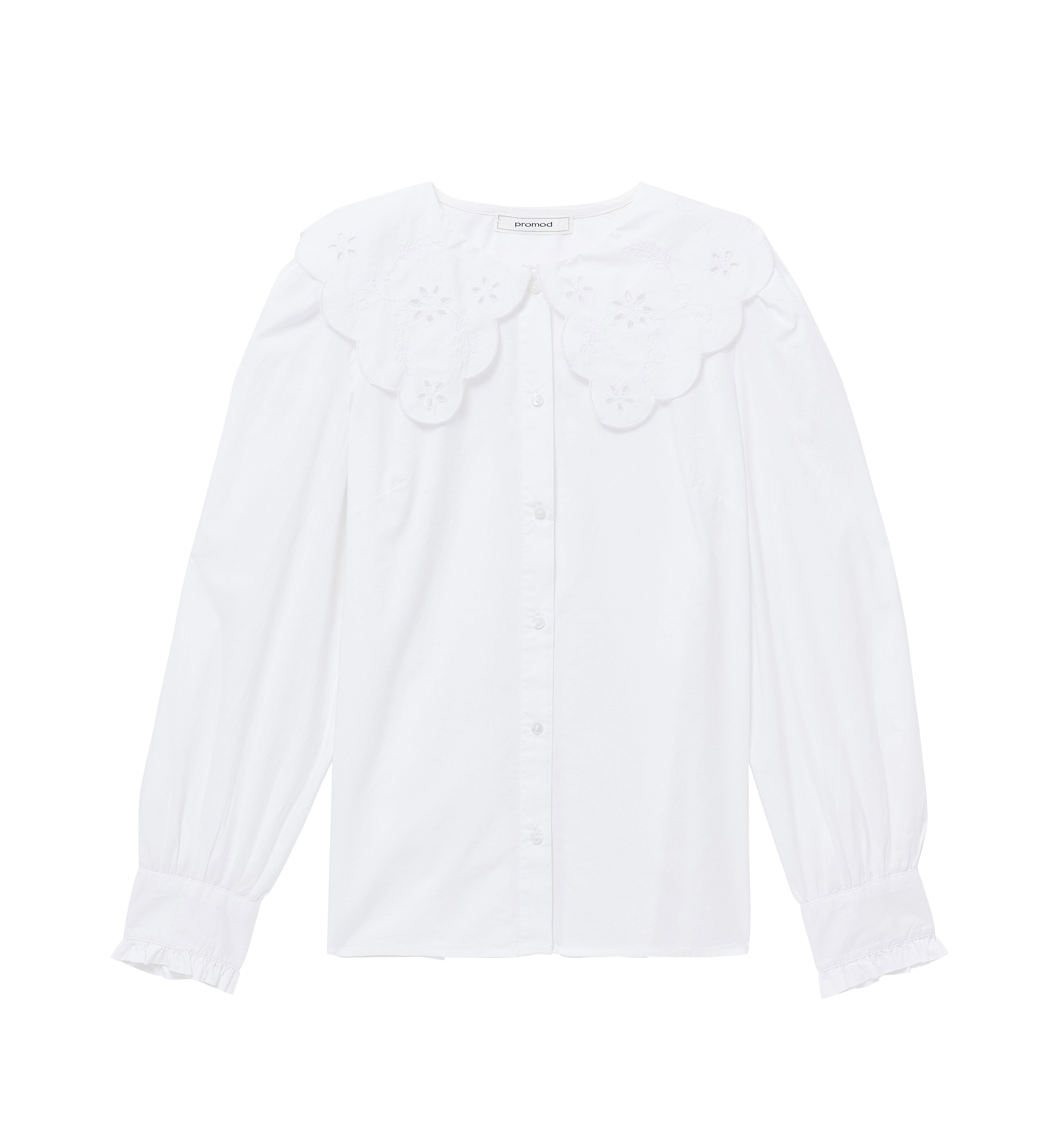 Chemise à col Claudine XXL