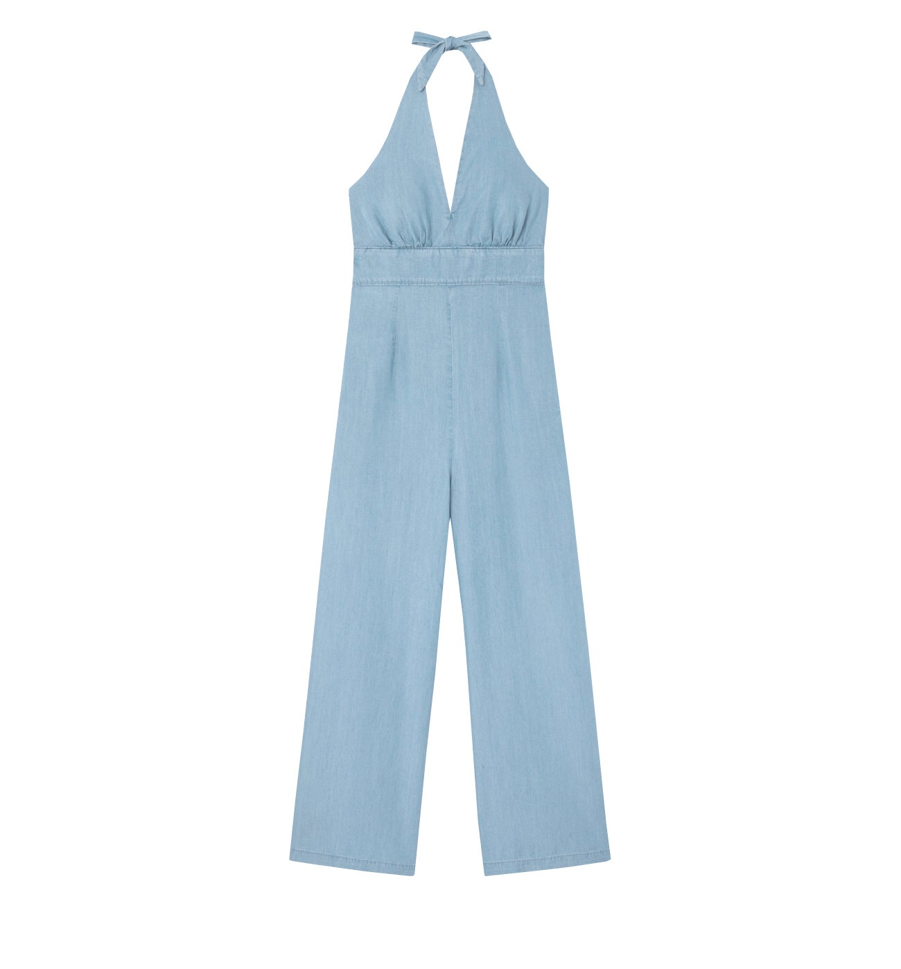 Combinaison-pantalon dos nu