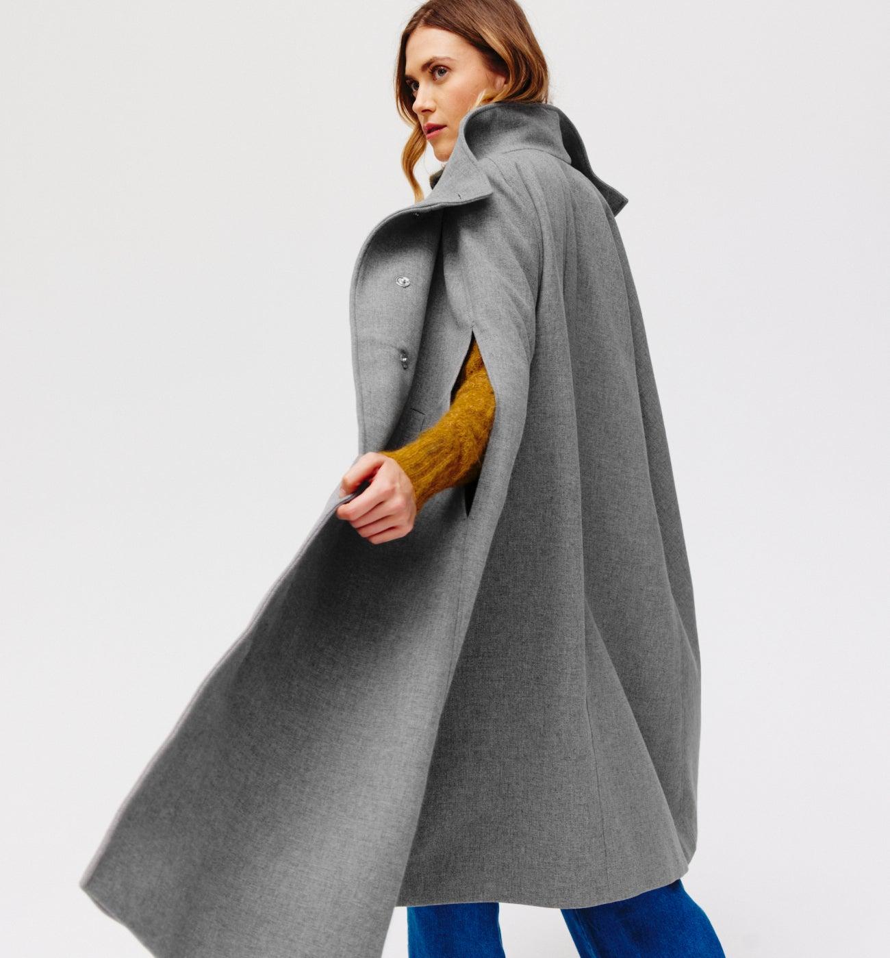 Longue cape Femme