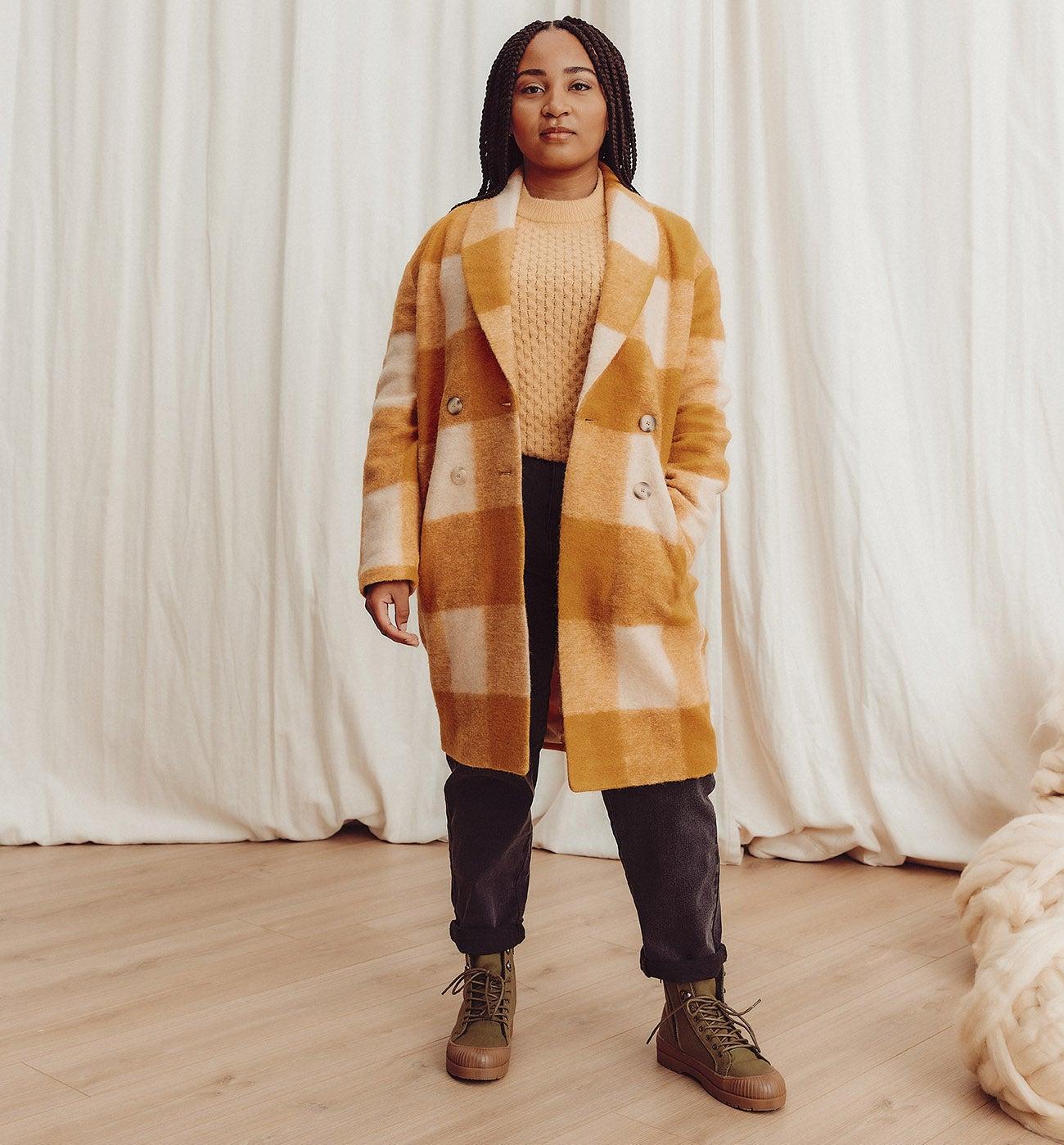 Manteau en laine CARMEN