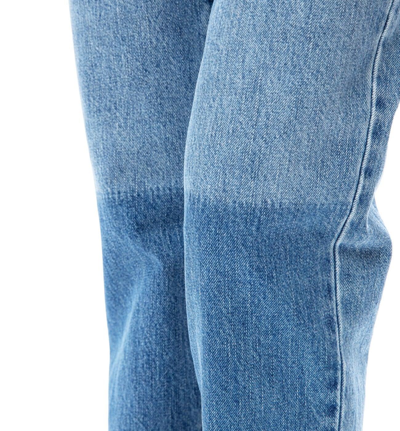 Jean droit taille haute BASILE