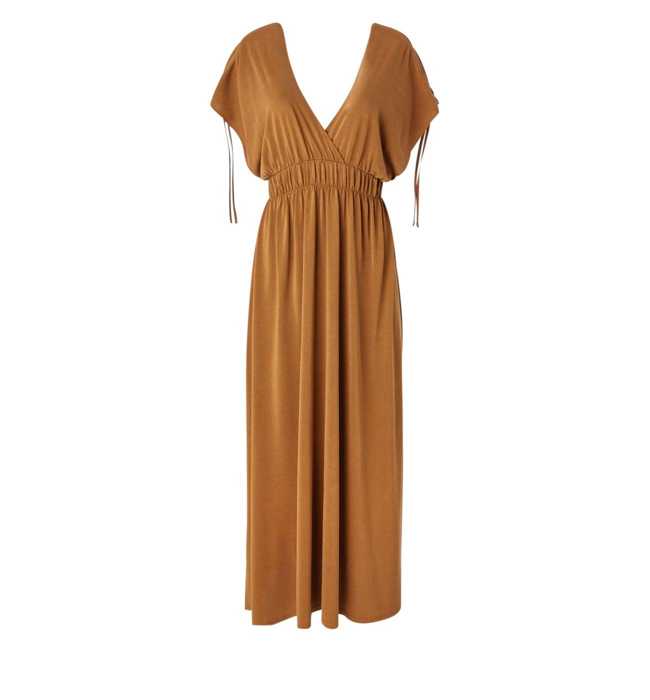Longue robe fluide Femme