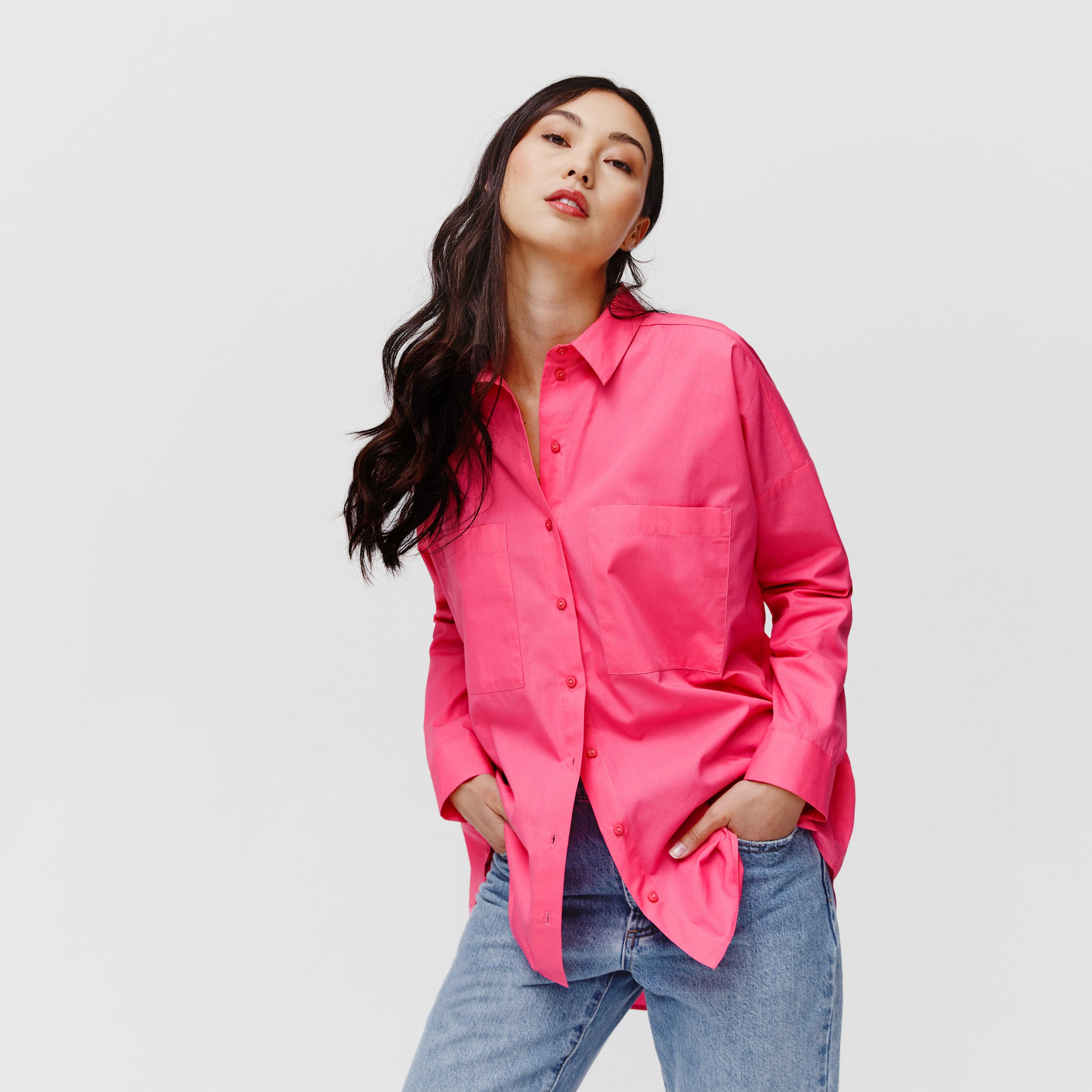 Longue chemise oversize