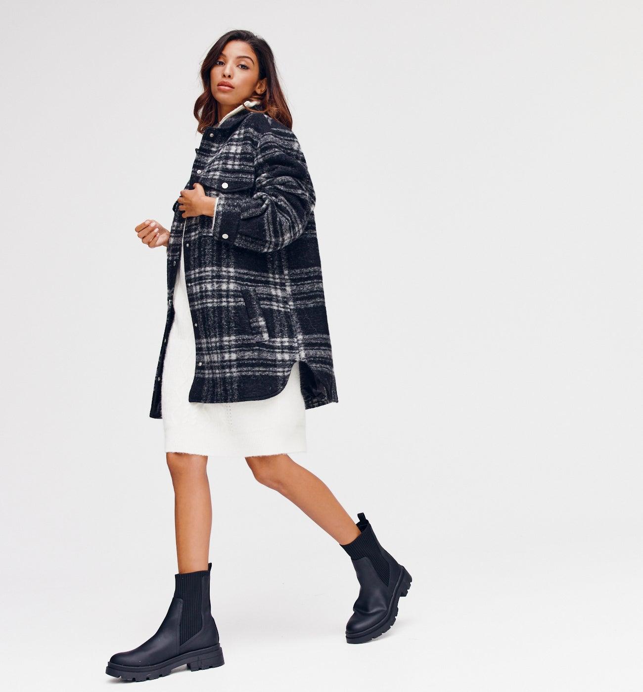 Manteau en laine italienne