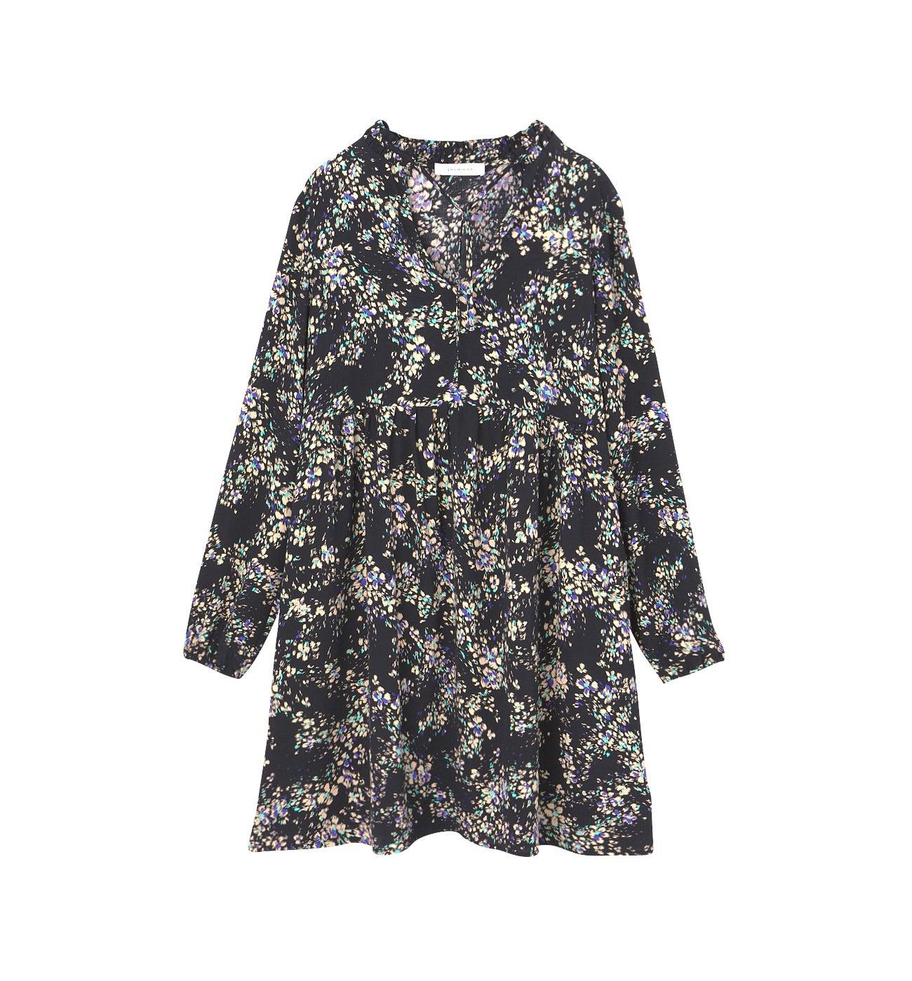 Robe courte imprimée Femme