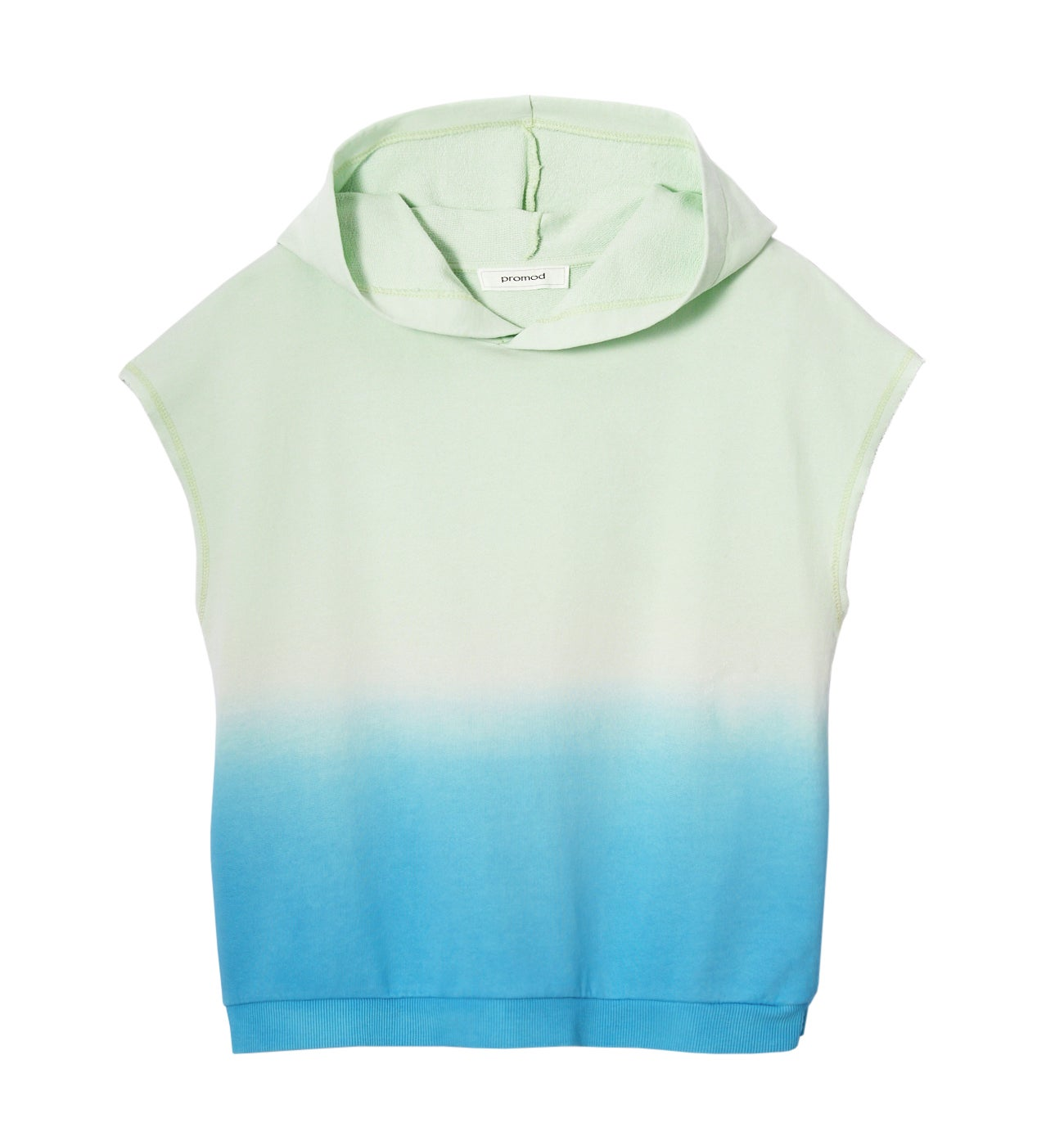 SWEAT TIE AND DYE A CAPUCHE