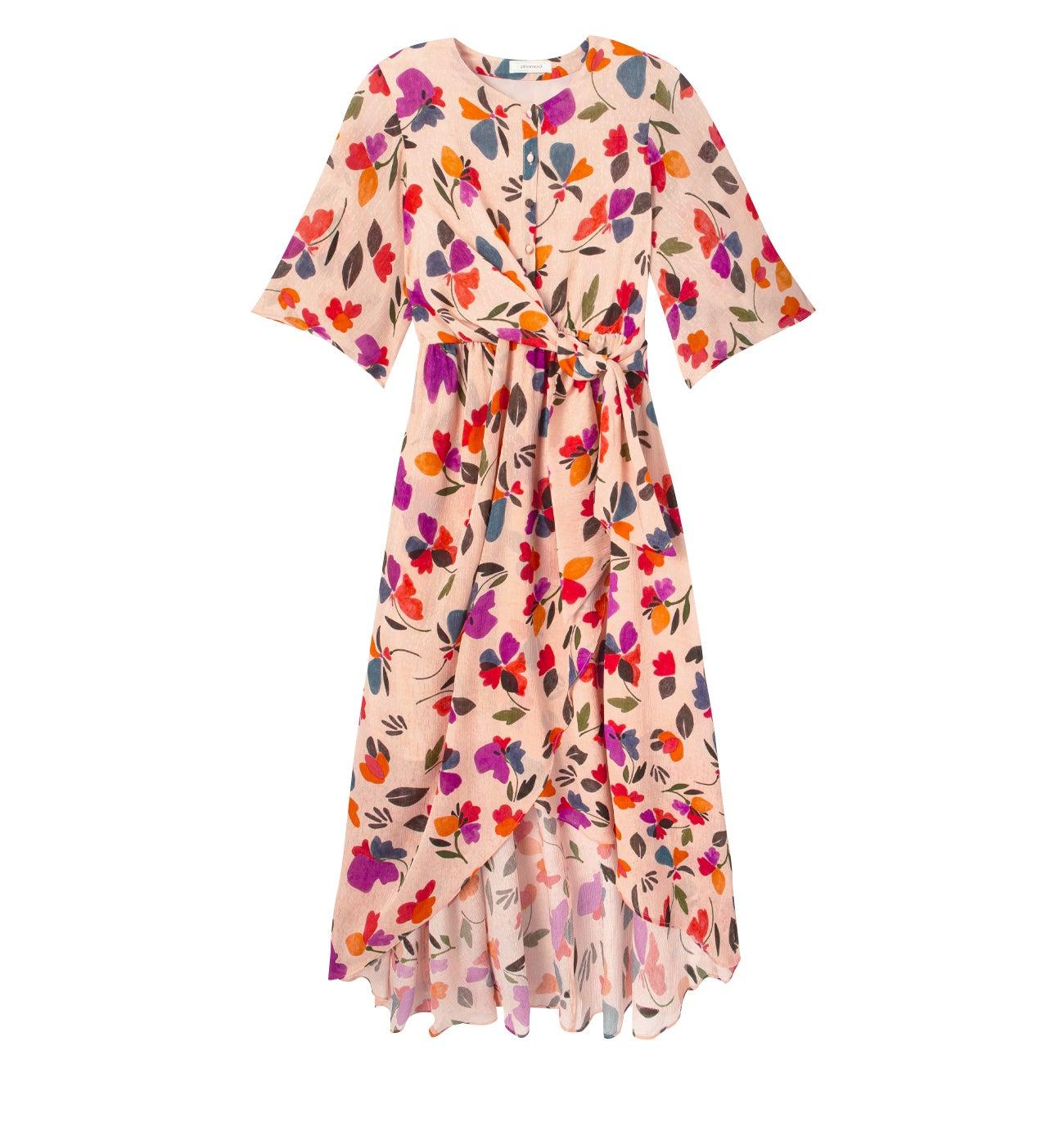 Robe fleurie femme