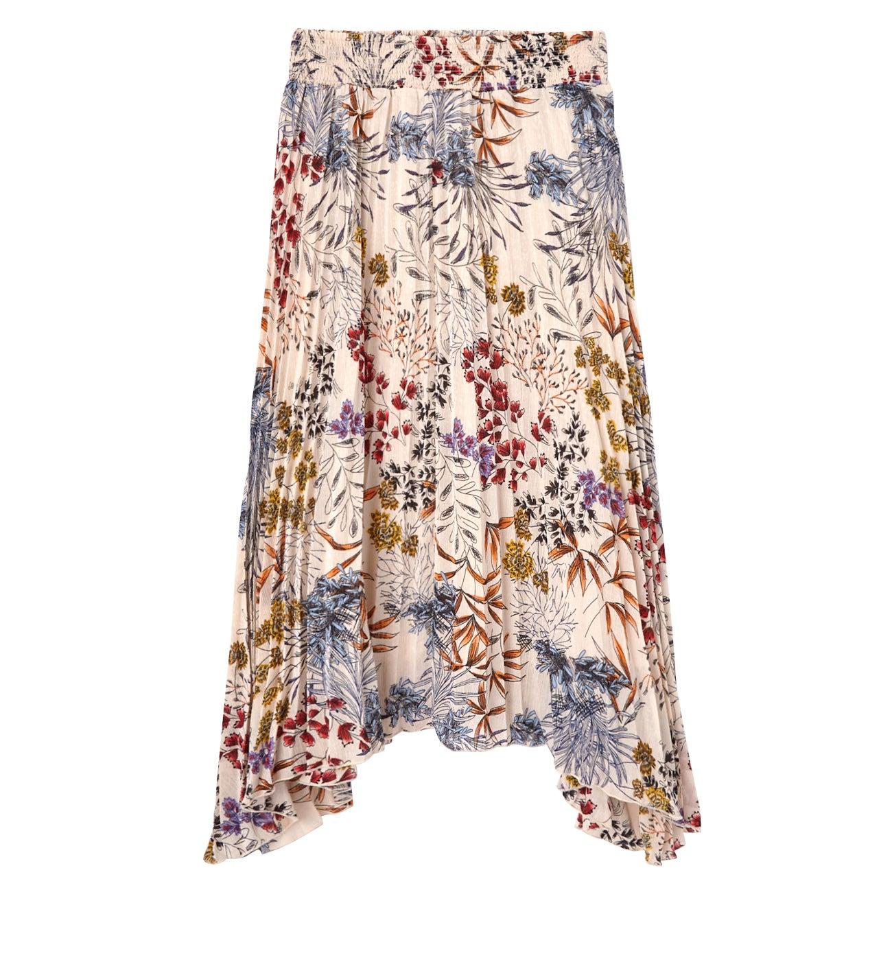 Longue jupe imprimée DIMB