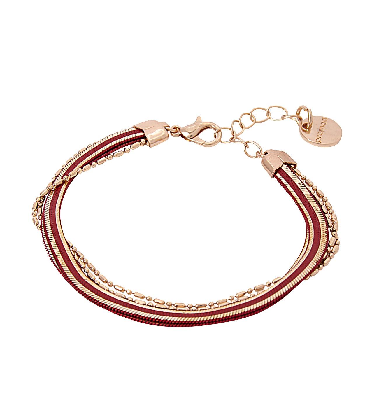 Bracelet multiliens Femme