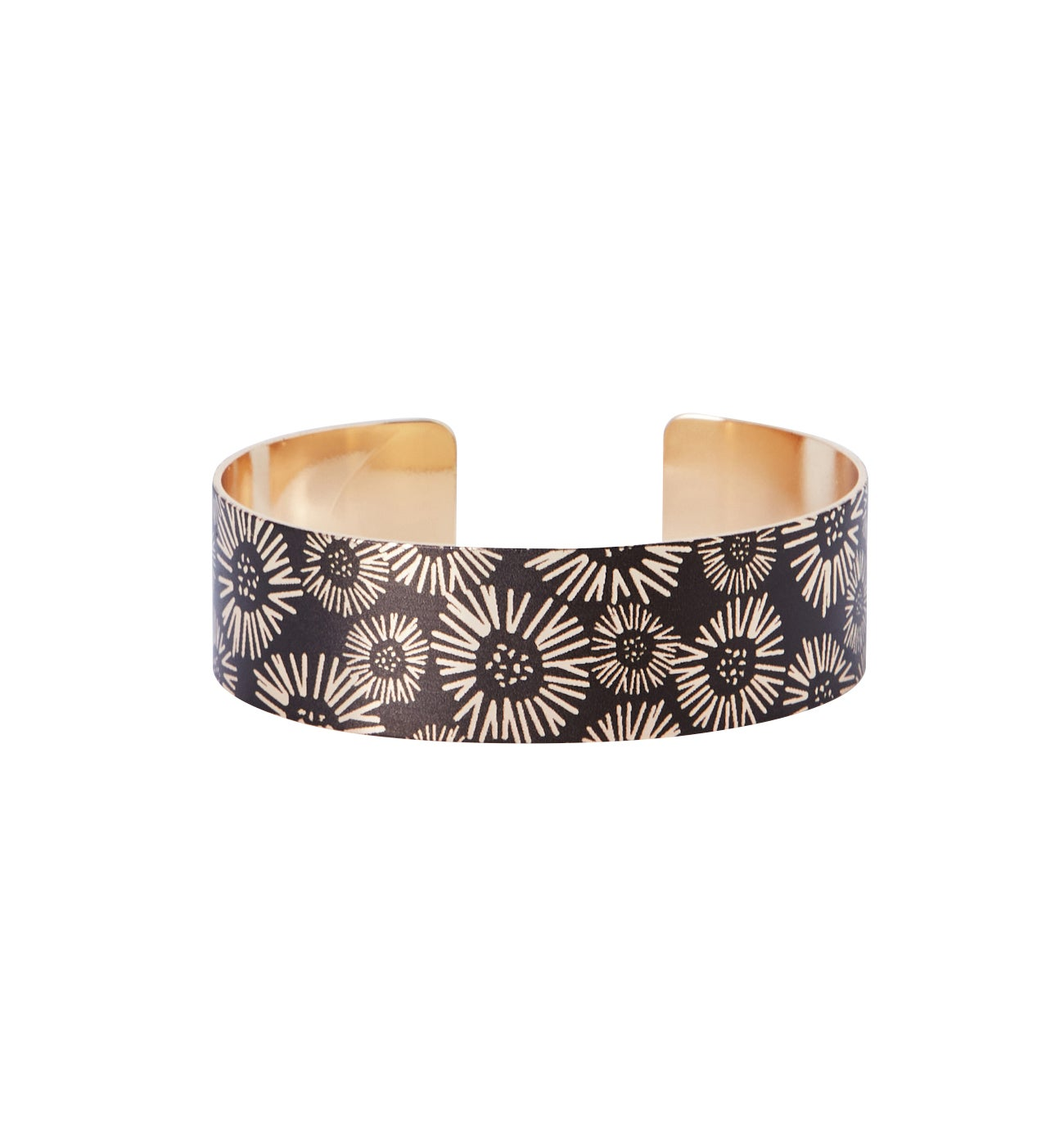 Bracelet manchette imprimé