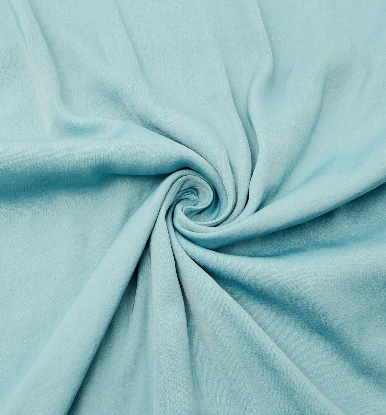 Coupon de tissu polyester uni
